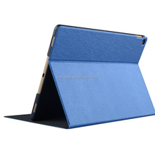 China Factory Hot Selling pu leather stamping silk Texture protective tablet case for Ipad pro12.9 logitech for ipad pro case