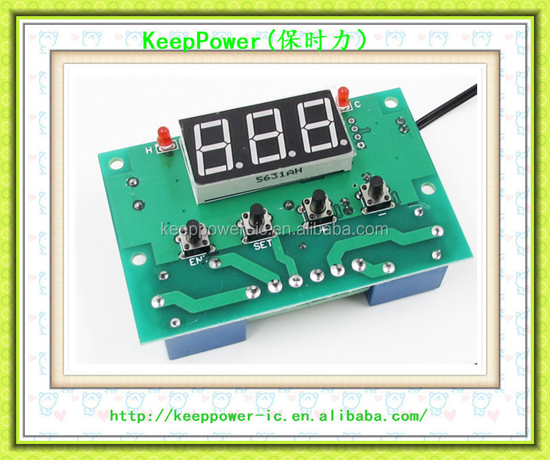 XH-W1505 Hot and cold automatic switching 2 relay output temperature adjustable automatic thermostat controller