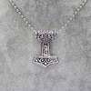 Movie Series New Design Accessories Comics Avengers Superhero Thor Hammer Necklace n-00