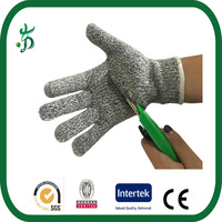 Anti cut glove protection cut resistant gloves level 5 food grade,meat cutting gloves