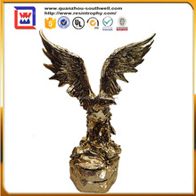 antique electrogilding eagle and gold eagle statues and polyresin eagle statues