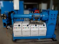 SILICONE RUBBER EXTRUDER MACHINE FOR HOSE PROCESSING