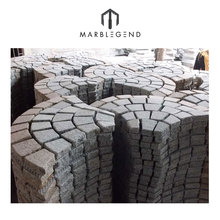 cheap price Natural granite curved paving stone
