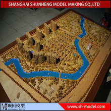 Real Estate Selling wooden house architectural model builders