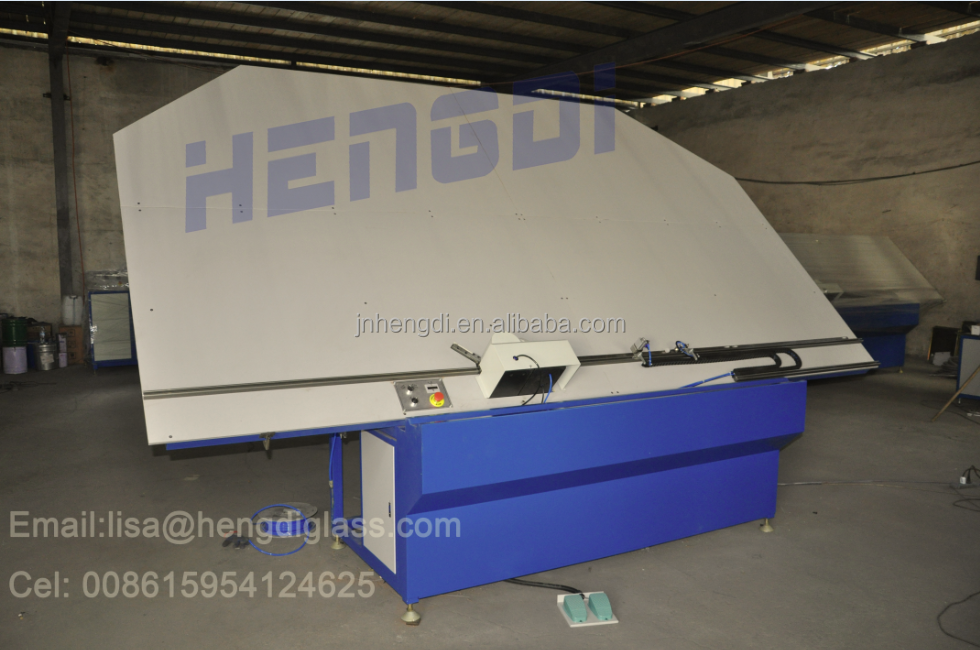 Jinan manufacturer Semi-auto aluminum bending machine use for insulating glass