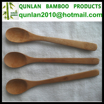 High Quality Mini Bamboo Scoop Spoon