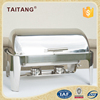 indian copper chafing dishes stainlss steel fuel food warmer container