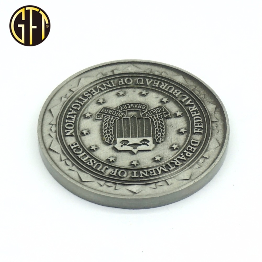 New york office collectible coins make your own <strong>design</strong> taken coins 3d plated sliver coin antique