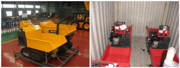 Hysoon mini self loading dumper for sale