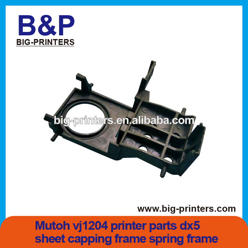 High Quality!!!!Mutoh valuejet vj1204 printer parts dx5 sheet capping frame spring frame