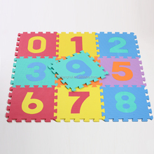 EVA Foam Number Puzzle Educational Toys For Kids Mat