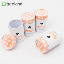 Design Clothing Cardboard Tube Carton Cylinder Box For Brand