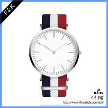 Watch fashion custom nato nylon watch men and women military watch