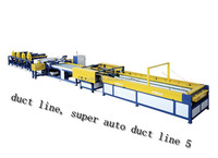 full-automatical duct line, super auto duct line 5 coorig