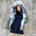 CX-G-P-09 High Quality Cheap Raccoon Fur Parka Jackets, Wholesale Winter Parka Jackets