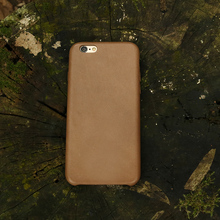 Oil wax leather phone case ,for iphone6 case leather