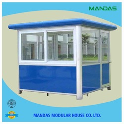 stainless steel parking mobile sentry box & movable sentry box & steel police box house in wide use for sale