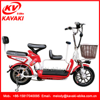 2016 New Products KAVAKI Three Seat Bike electric Bicycle Cheap Chinese Motorcycles