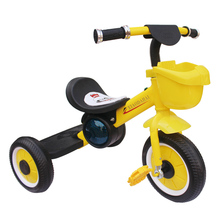 2015 best quality new model baby tricycle with black seat for 2-5 years old kbaby tricycle for sale