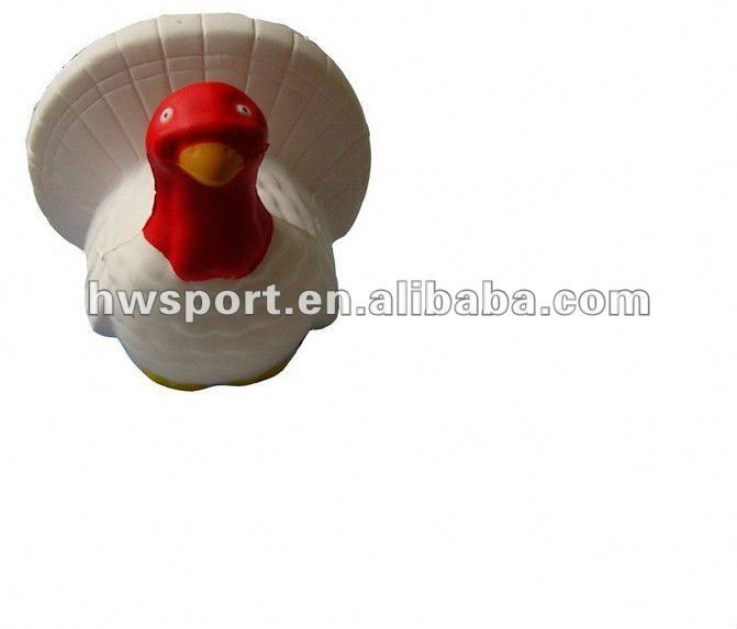 foam ball/squeeze toy/pu chicken toy