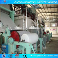 1880mm Tissue Paper Manufacturing Machine, Kitchen Paper Towel Making Machine