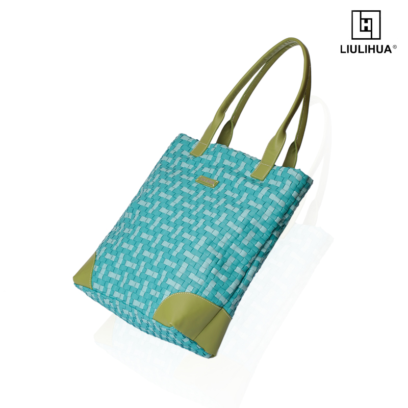 Women bag lady handbag china special Hand knitted series leather handbag bags