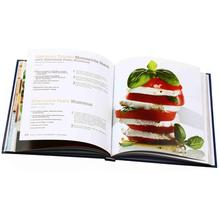 Full color hardcover book custom cookbook printing