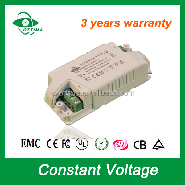 led driver 15w 12v ac/dc adapter/power led strip power supply