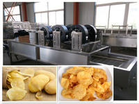Commercial fresh potato chips making machinery