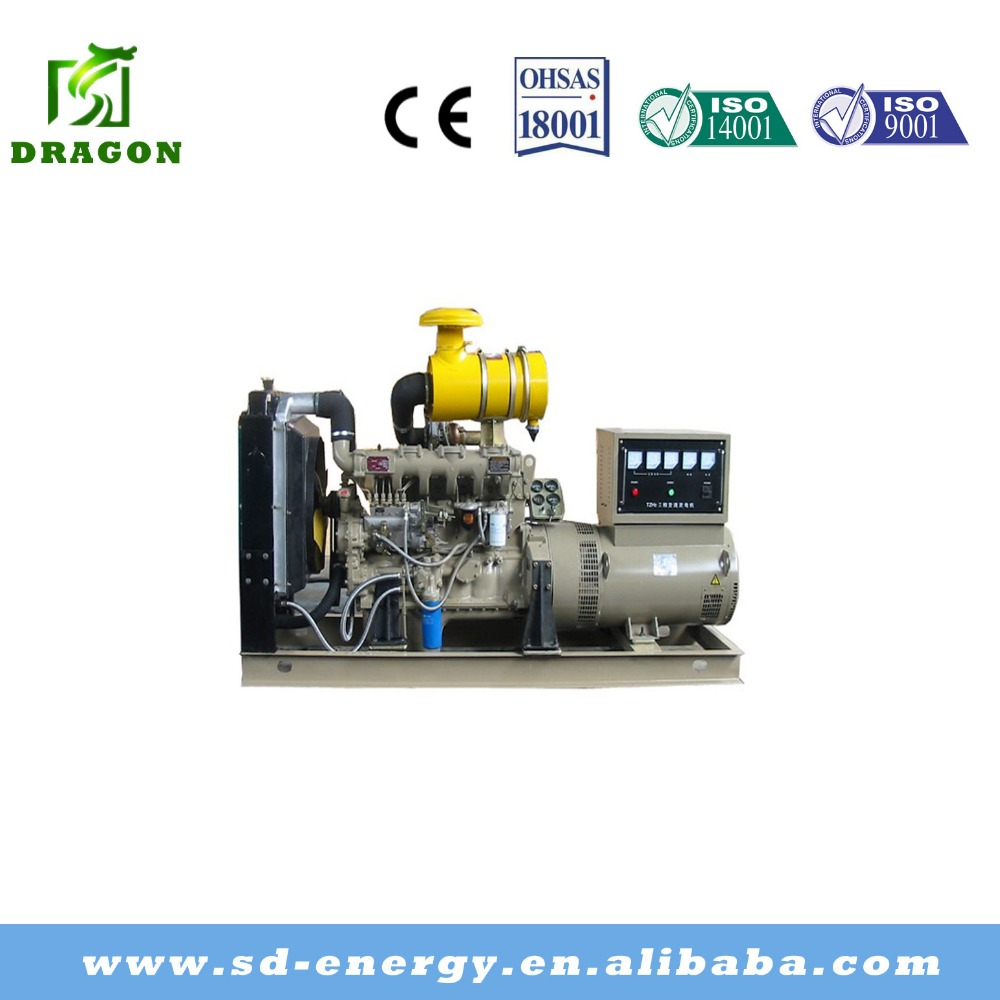 1mw CE&ISO approved diesel generator set with electric motor in china