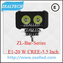 E1-20W Wholesale bar light for car with CE, ROHS 5.5inch LED Bar series working light bar light auto car LED