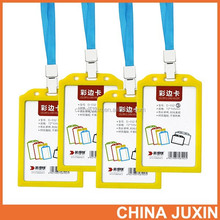 Wholesale RBD Hot selling fashion color lanyard id card badge holder