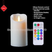 hot sale remote control decorative candle holder