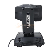 16 channels 16 facet prism sharpy beam moving head light ,200 beam 5r for dj disco nightclub theater party
