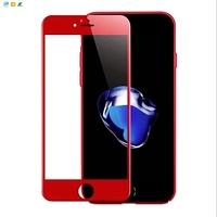 New arrival 4D curved Full Cover tempered glass screen protector for iphone 7