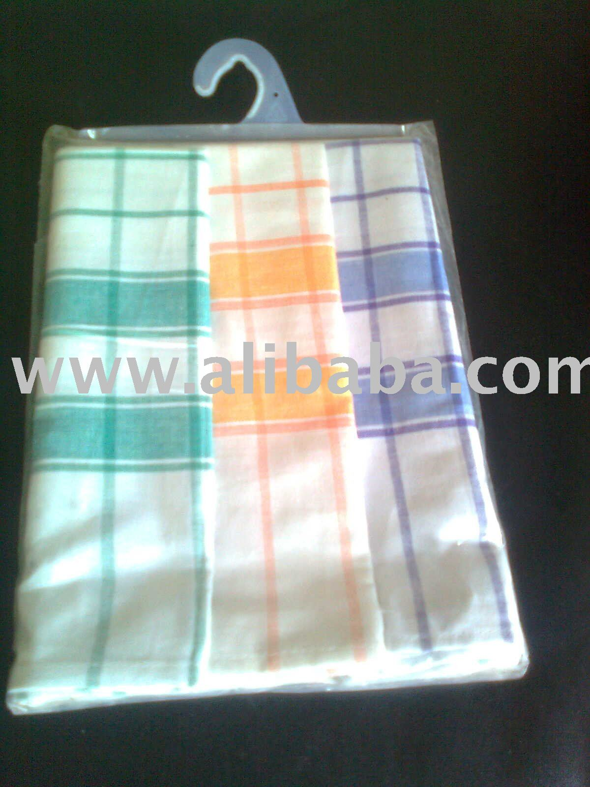 Multi Stripe Kitchen Duster cloth