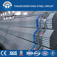 ASTM-A53,BS1387-1085,DIN2440, GB/T3091-2001 standard Hot-Galvanized Steel Pipe