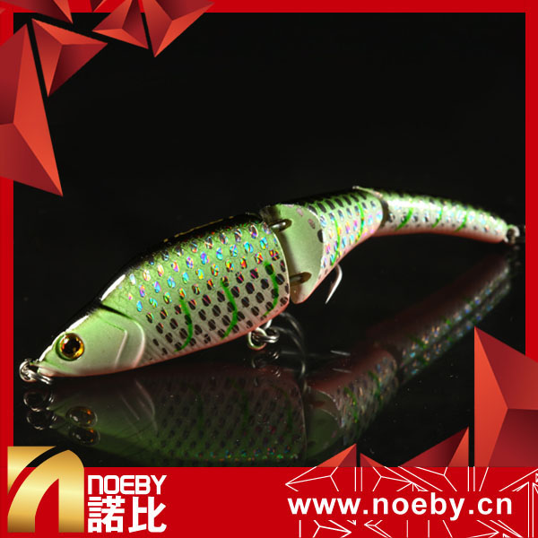 Plastic Minnow Jointed Fishing Lures