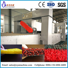 PVC Spinneret Carpet Production Line/PVC Spinneret Mat Extrusion Line