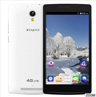 New Arrival 5.5'' ZOPO ZP C5 Mobile Phone 4g ZOPO C5 MTK6582m unlocked cellphones for sale