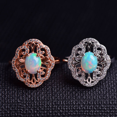 hot sale 925 sterling silver natural gemstone jewelry set 2018 new trendy yellow citrine crystal ring earrings pendant necklace
