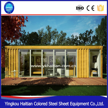2016 pop hot sale Economic project bamboo prefabricated house for building company