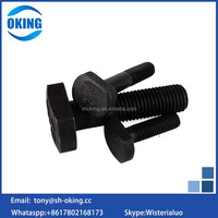 8.8 10.9 12.9 carbon steel t head bolt