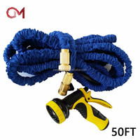 Factory selling directly amazon best sellers 2016 expandable garden hose brass fitting car wash