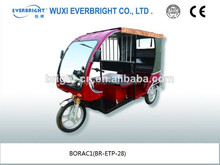 CE certification battery power electric tricycle / vehicle in China