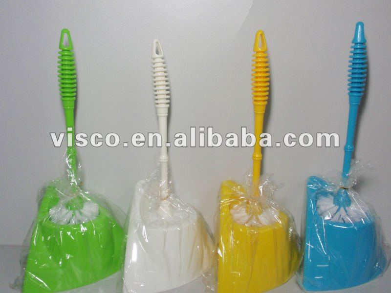 new style disposable toilet brush VA216C4