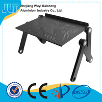 Adjustable height and angle diy plastic laptop stand
