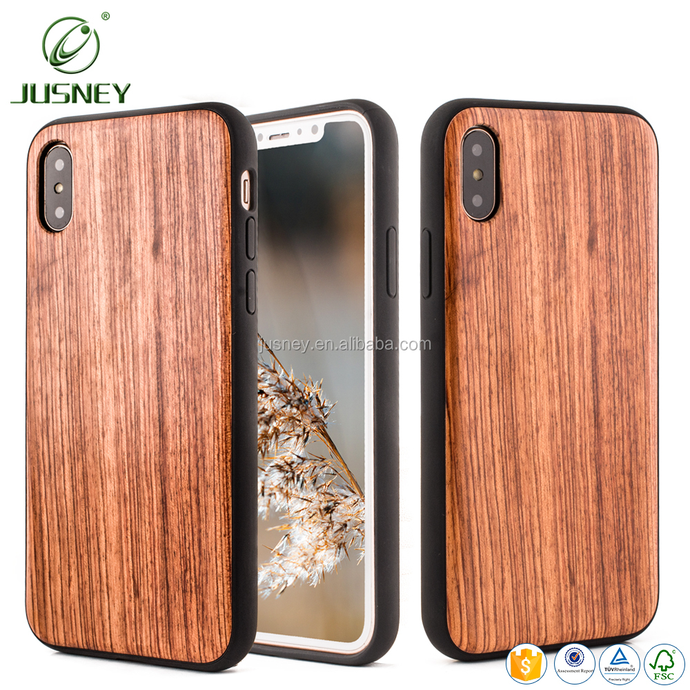 New high quality natural bamboo wood cell mobile phone soft case for iphone 8 for iphone X for iphone 7 phone accessories mobile