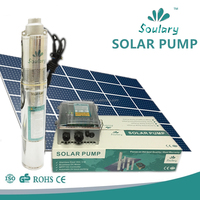 Price of total Stainless Steel DC Submersible Solar Pump with Helical Rotor Structure