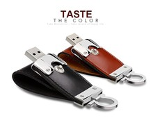 Free Custom Logo Best Wholesale Gifts Leather Metal USB Flash Drive/Pendrive/Flash memory